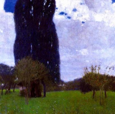 Gustav Klimt. Great poplar I