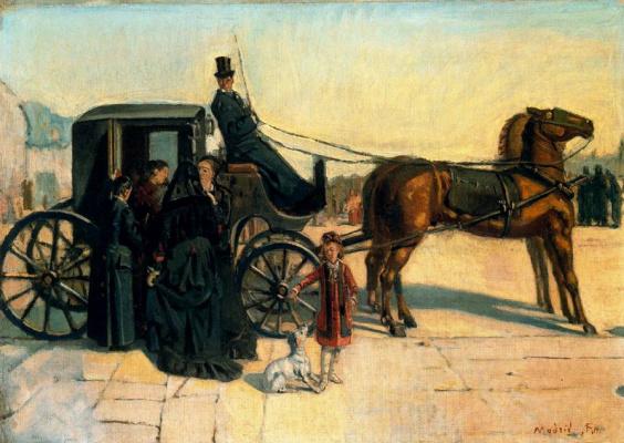 Фердинанд Ходлер. Карета