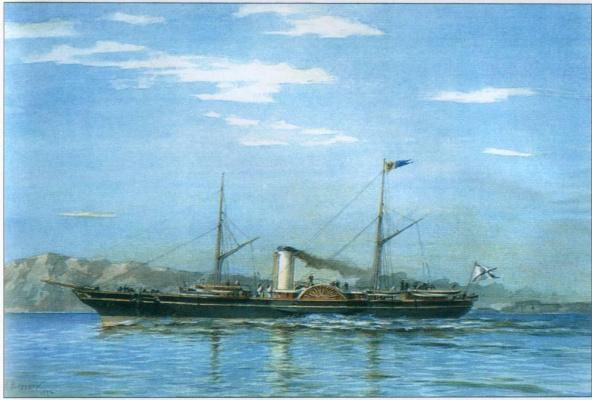 "Alexander Karlovich Beggrov. Imperial yacht ""Standart"" (1858-1879)"", 1892"