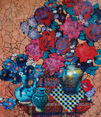 Natalia Nikolaevna Guller. Bouquet.