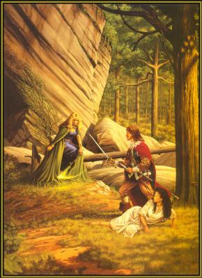 Ларри Элмор. Зеленая ведьма