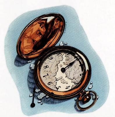 Рональд Чиронна. Время
