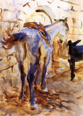 Джон Сингер Сарджент. Верховая лошадь, Палестина