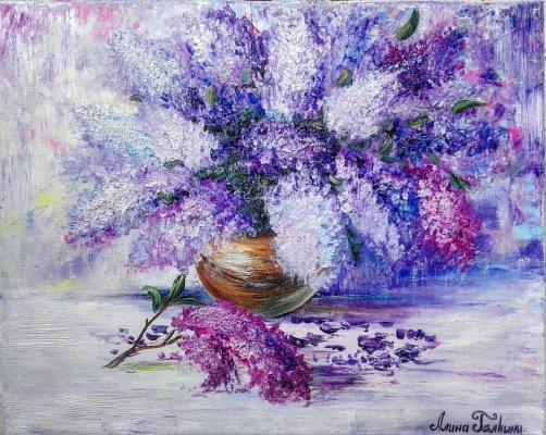 Алина Евгеньевна Шварёва (Галкина). Lilac