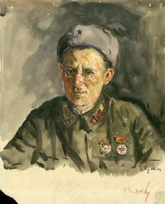 Petr Krivonogov. A Portrait Of Petr Nikolaevich Chernyshev