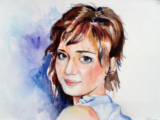 Julia Fomina. Portrait of a girl