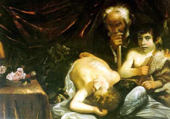 Гвидо Каньяччи. Спящий Христос