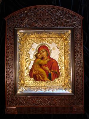 Sergey Filippenko. Icon of mother of God VLADIMIRSKAYA