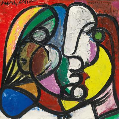 Пабло Пикассо. Голова женщины (Портрет Мари-Терез)