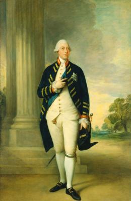 Thomas Gainsborough. Portrait of king George III