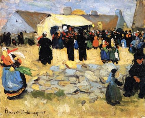 Robert Delaunay. Breton Market