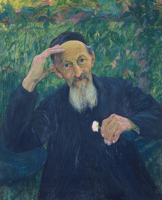 Giovanni Giacometti. Portrait of my father