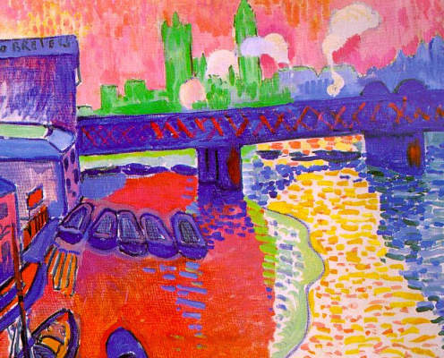 Andre Derain. Bridge To Charing Cross