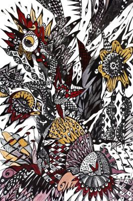 """Irina Shumskaya. Painting """"Morning Song"""" Irina SHUMSKAYA"""