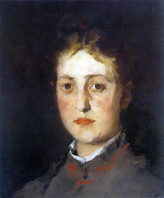 Вильгельм Мария Хубертус Лейбль. Женский портрет