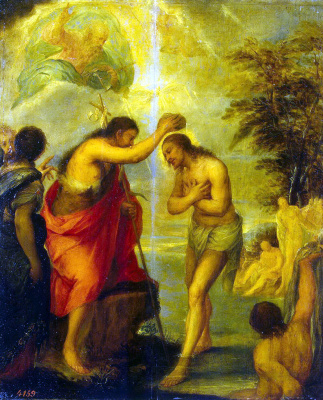 Хуан Карреньо де Миранда. Крещение Христа