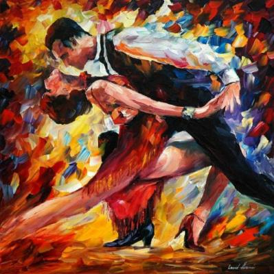 Leonid Afremov. Tango