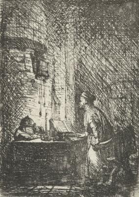 Jan Lievens. Scholar in his study
