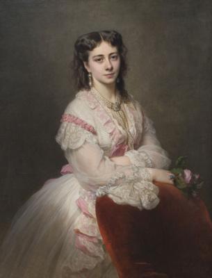 Franz Xaver Winterhalter. Portrait of Countess Maria de Branicki Balcarce