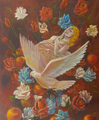 Alik Khazgaleev. Venus in flowers