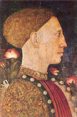 Антонио Пизанелло. Мужской профиль