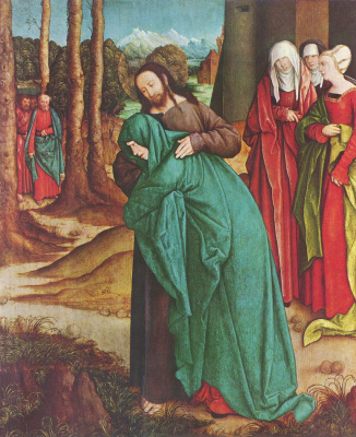 Бернхард Штригель. Прощание Христа с матерью