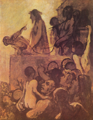 Honore Daumier. Behold The Man