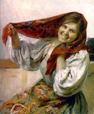 Федот Васильевич Сычков. Крестьянка