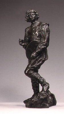 Auguste Rodin. Claude Lorrain: sketch for a monument