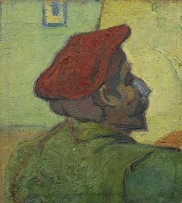 Винсент Ван Гог. Поль Гоген (Мужчина в красном берете)