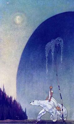 Кей Нильсен. Иллюстрация к  сказке  На восток от солнца, на запад от луны 08