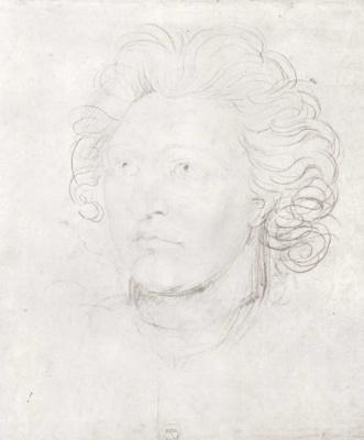 William Blake. Self-portrait