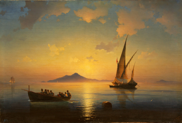 Ivan Constantinovich Aivazovski. The Bay of Naples