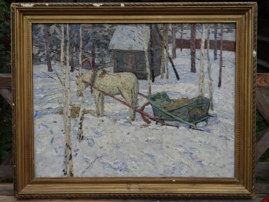 Александр Григорьевич Савичев. Зима