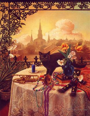Тереза Фасолино. Черная кошка