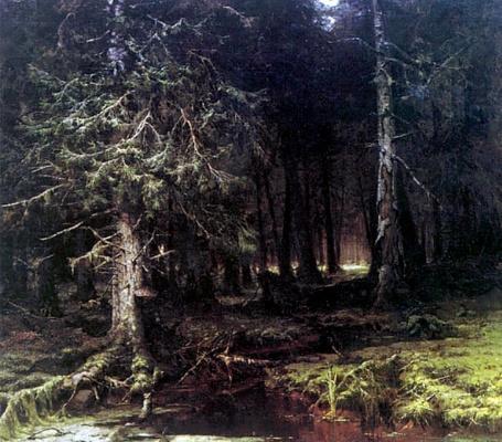 Юлий Юльевич Клевер. Девственный лес