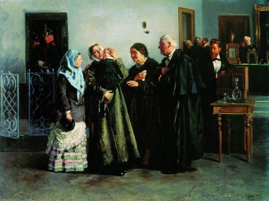 Vladimir Egorovich Makovsky. Justified