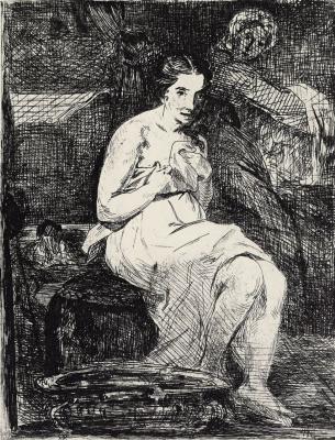 Edouard Manet. Toilet