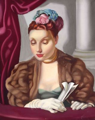 Tamara Lempicka. In the theater