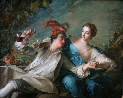 ЖАН-МАРК НАТЬЕ. Влюблённые. 1744