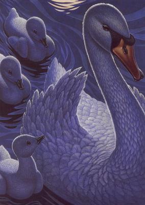 Ричард Каудри. Лебеди