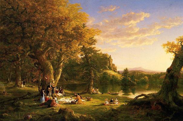 Thomas Cole. Picnic