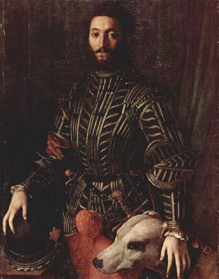 Agnolo Bronzino. Guidobaldo II della Rovere, Duke of Urbino