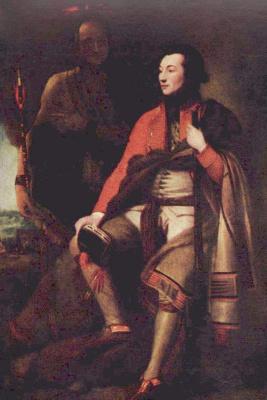 Бенджамин Уэст. Портрет полковника Гая Джонсона
