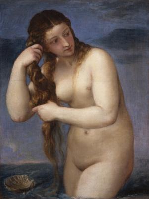 Тициан Вечеллио. Венера Анадиомена
