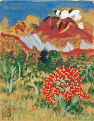Умехара Рюзабуро. Осенний пейзаж