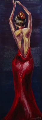 "Alla Struchayeva. Painting ""Tango"""