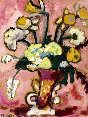 Gabriele Münter. Floral still life