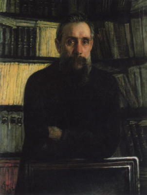 Nikolai Nikolaevich Ge. Portrait of P. A. Kostychev, scientist-soil scientist