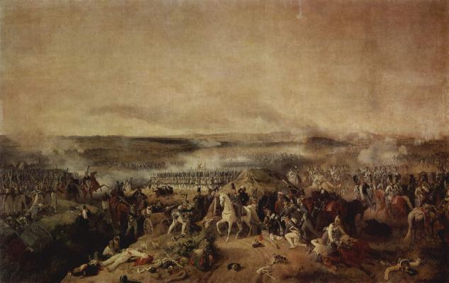 Петер фон Гесс. Бородинская битва